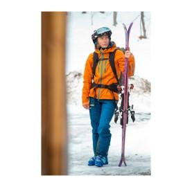 SUPA2 W LAGOPED Pantalon de Montagne pour Femme LAGOPED  imper-respirant 100% recyclé