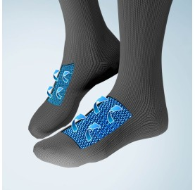 chaussette UYN Protection intelligente ventilation efficace du pied