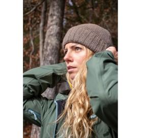 Bonnet pour la montagne et la vallée en laine recyclée et filée en France