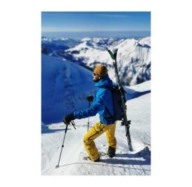 KIIRUNA LAGOPED sac à dos ski de randonnée et porte ordinateur tissu recylé