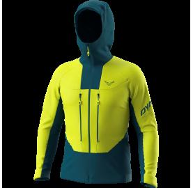 Veste softshell Homme coupe-vent et très respirante, ski de randonnée dynamique et printanier