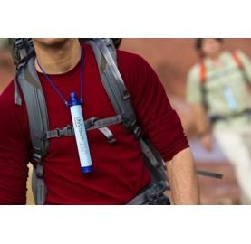 FILTRE A EAU nomade transportable LIFESTRAW PERSONAL WATER FILTER paille filtrante eau voyage