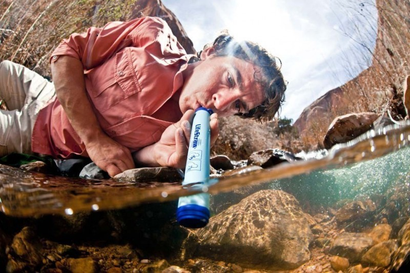PAILLE FILTRE A EAU LIFESTRAW PERSONAL WATER FILTER