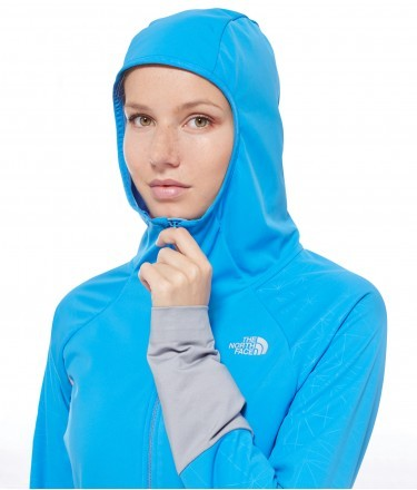 W ATERPEA FULL ZIP HOODIE THE NORTH FACE