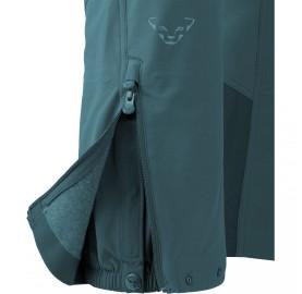 MERCURY SOFTSHELL PANT M DYNAFIT - pantalon ski de randonnée guetre ouverture chaussures