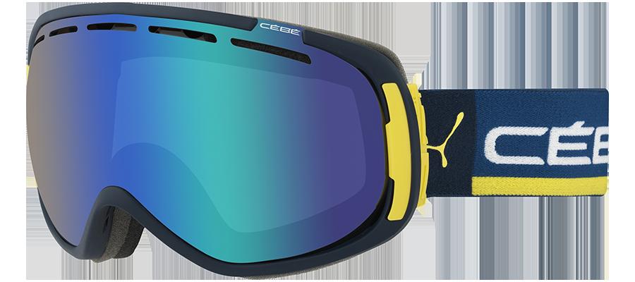 FEEL'IN BLUE & YELLOW Masque de ski CEBE