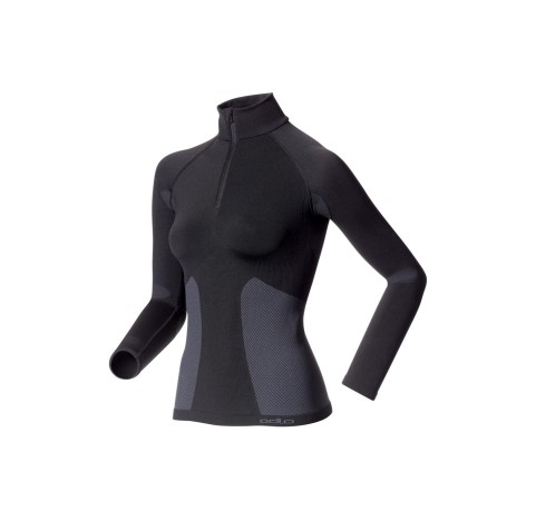 MAILLOT DE CORPS FEMME EVOLUTION WARM ZIP ODLO