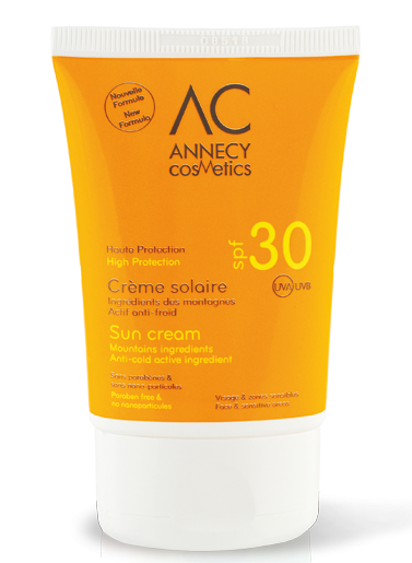 CREME SOLAIRE SPF30 Annecy Cosmetics