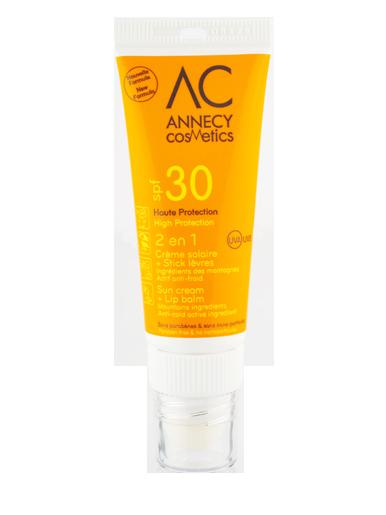 COMBISTICK SOLAIRE SPF30 Annecy Cosmetics
