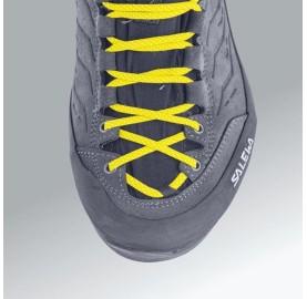 SALEWA chaussure femme randonnée et trek WS MTN TRAINER MID GTX lacet long pour ajuster la chaussure