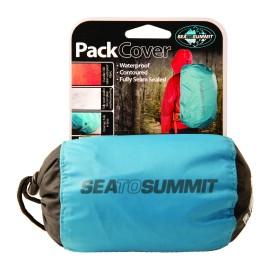 sur cas à dos impermeable PACK COVER SEA TO SUMMIT - COUVERTURE DE PLUIE SAC A DOS