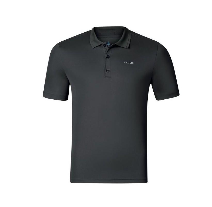 KALMIT ODLO polo homme sport - voyage rando golf equitation gris graphite