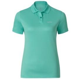 KALMIT ODLO polo sport femme - golf equitation rando voyage - couleur vert eau Cockatoo