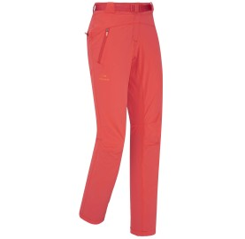 EIDER pantalon femme rando léger souple protection solaire FLEX PANT W couleur corail