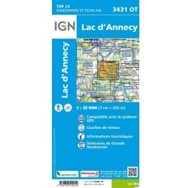 3431OT LAC D'ANNECY IGN TOP 25