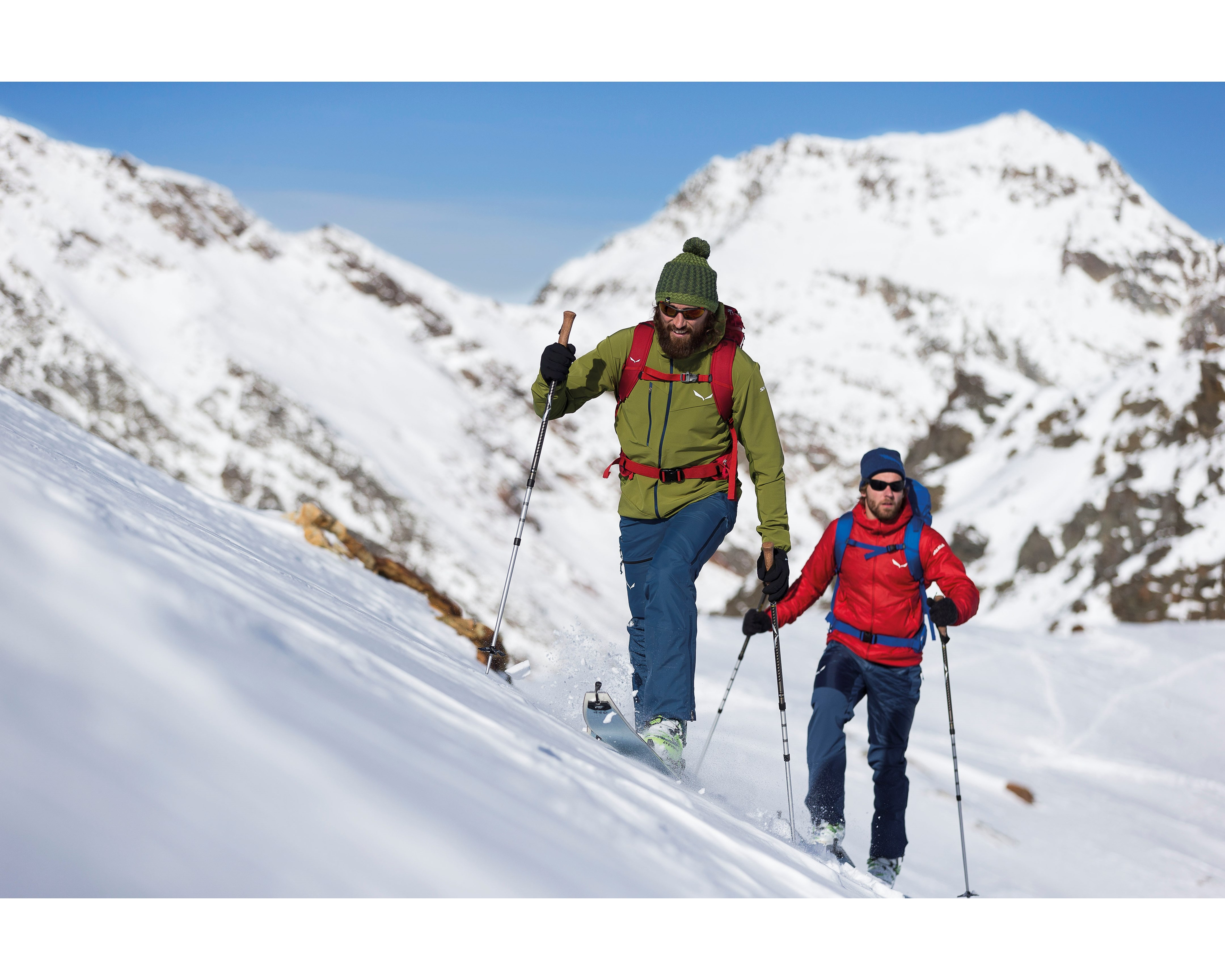 SALEWA veste chaude ski rando SESVENNA 2 POLARTEC® ALPHA M JKT