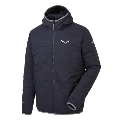 Veste Laine PUEZ TirolWool® Celliant® M HALF-ZIP JKT SALEWA