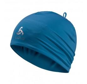 Bonnet POLYKNIT ODLO Ski de fond bonnet fin leger souple sous le casque ski de fond - BLEU mykonos