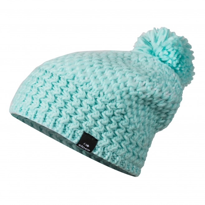 HEAVENLY BEANIE EIDER bonnet pompon