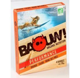 BARRES PERFORMANCE Orange-Cajou-Reine des Prés- BAOUW !