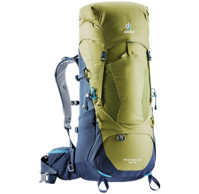 DEUTER sac à dos trek 50 litres light confort AIRCONTACT LITE 40+10