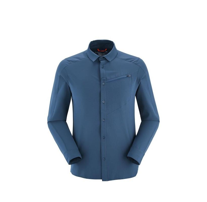 SHIELD SHIRT LS LAFUMA - chemise manche longue voyage infroissable protection solaire anti moustique