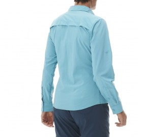 LD SHIELD SHIRT LAFUMA - chemise randonnée femme manche longue protection solaire anti moustique