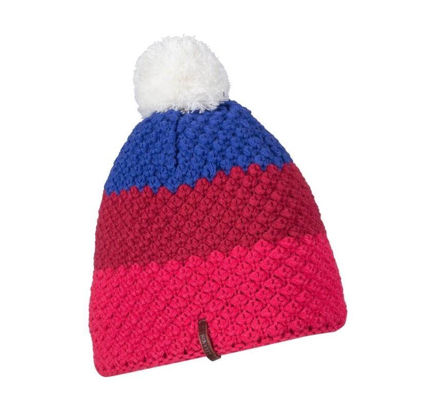 LD HAPPY BEANIE MILLET - bonnet pompon laine Merino et polaire cc822f19429