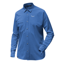 PUEZ MINI CHECK DRY M L/S SALEWA