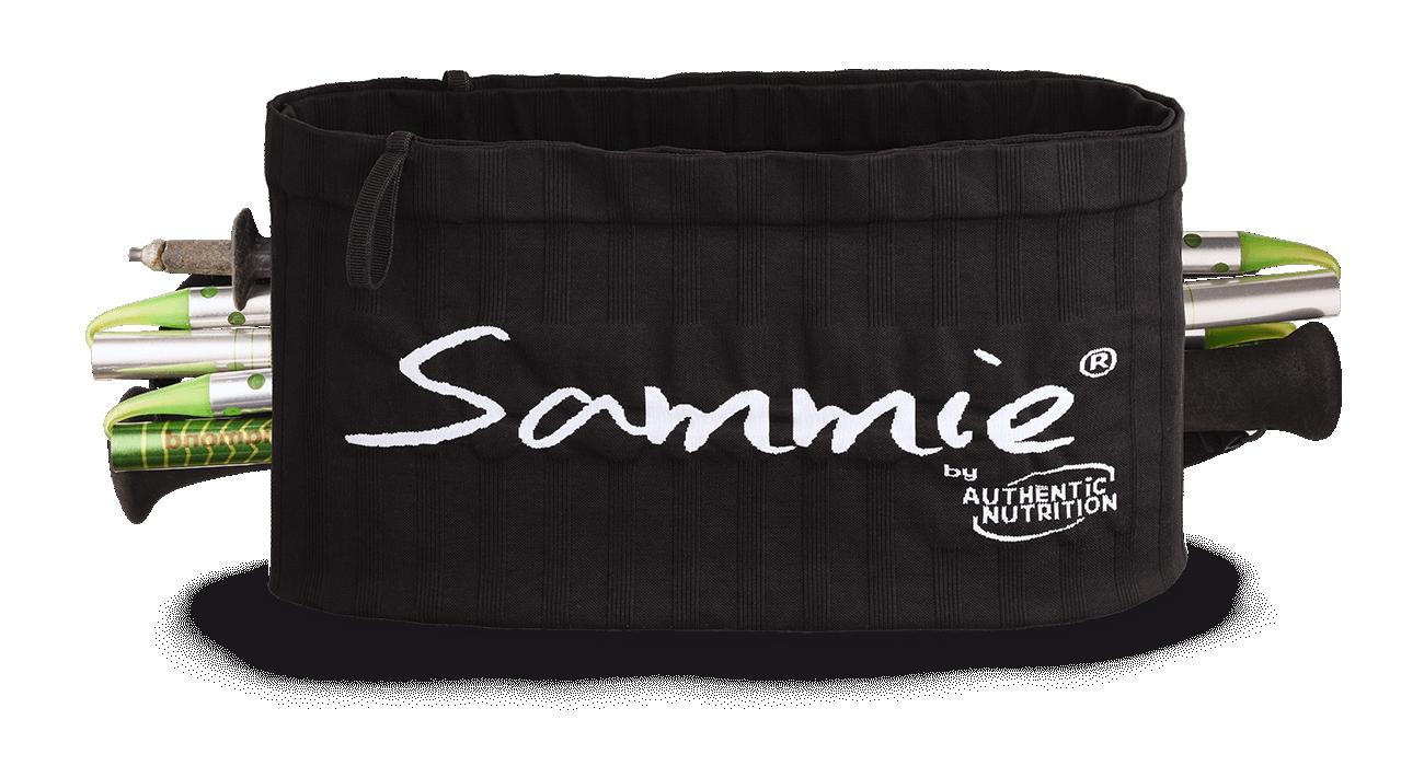 Ceinture avec poche ventrale SAMMIE® Trail porte baton - La Randonnée