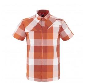 SQUAMISH CHECK SHIRT M - chemise rando respirante homme coton et polyester  - Orage Dawn