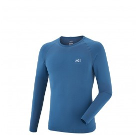 MILLET Tee shirt  moulant LTK SEAMLESS TS LS ultra respirant ultra séchant
