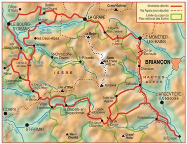 Topo Guides Oisans Ecrins